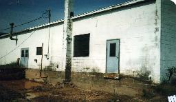 Back of building - Before